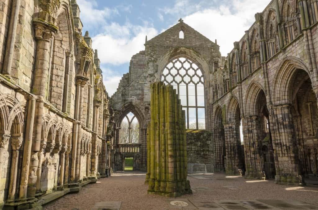 Edinburgh ruin