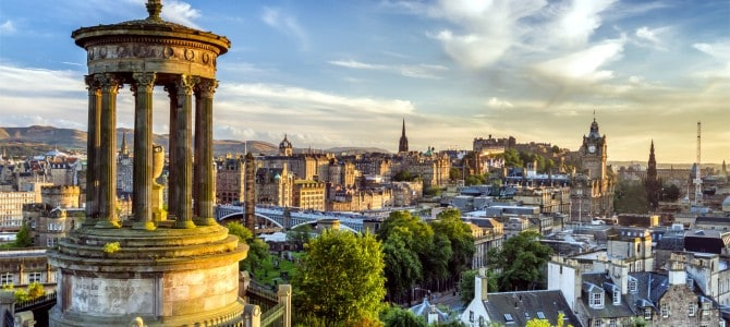 Fra Edinburgh til Glasgow – Guide til transport