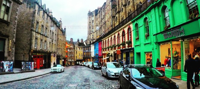 3 gode restauranter i Edinburgh