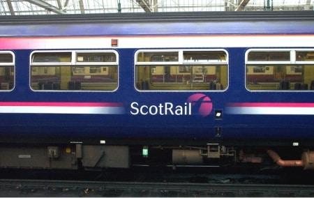 tog i skotland