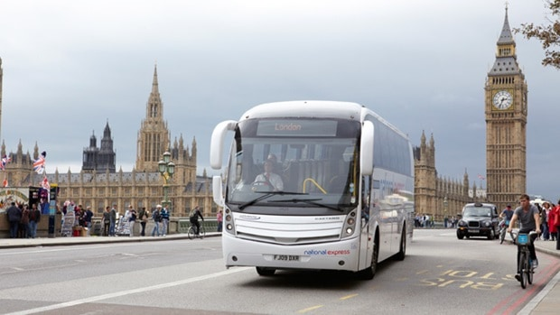 bus fra heathrow til london