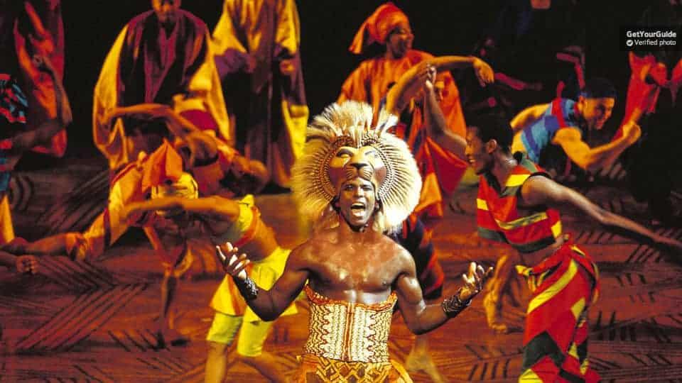 løvernes konge musical london