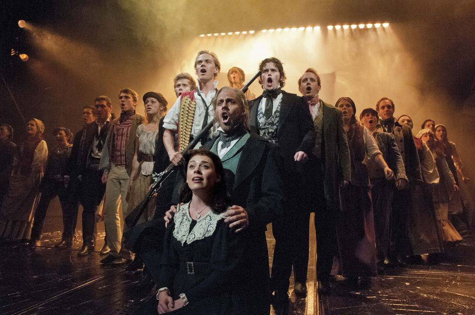 les miserables musical i london