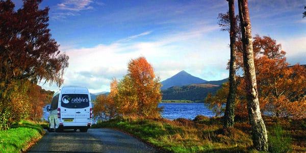 Udflugter fra Edinburgh – Tag på tur og se Skotlands smukke natur