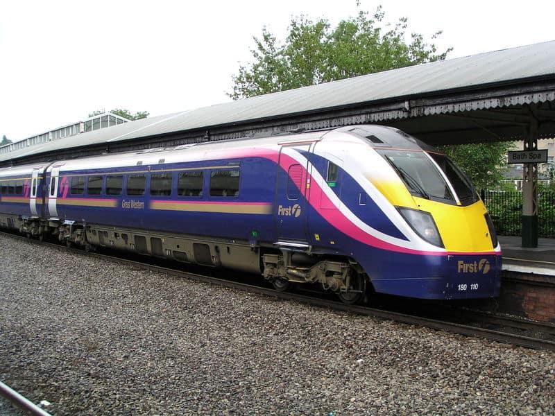 tog i storbritannien