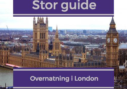 Hotel og ferielejlighed i London – Stor guide til overnatning centralt
