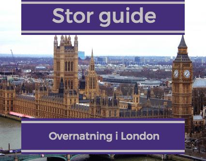 london overnatning guide