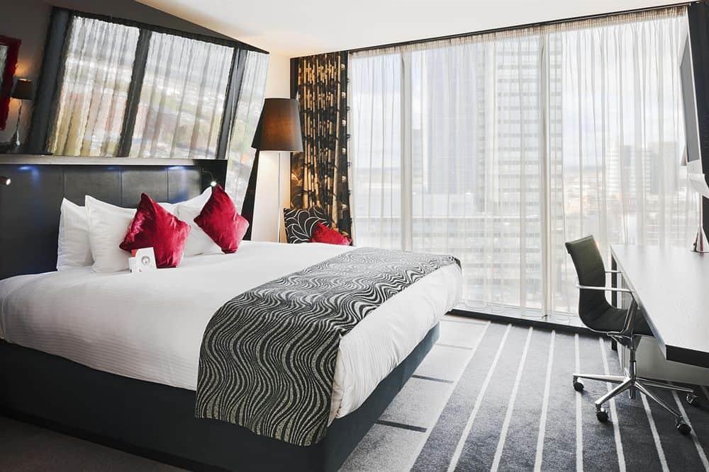 hotelværelse i manchester centrum