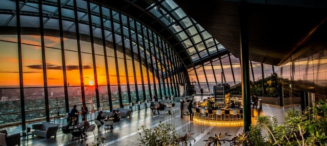 Sky Garden – Få en fantastisk udsigt over London