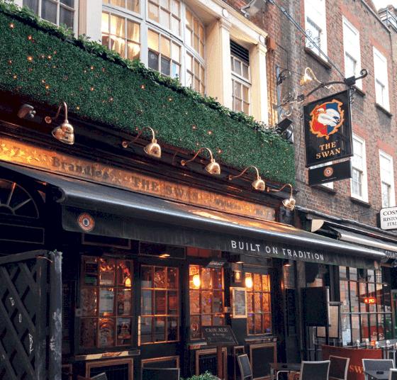 The Swan pub London