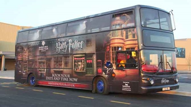 transport london til harry potter studios