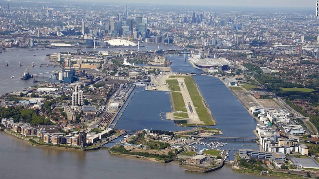 helikoptertur london city airport