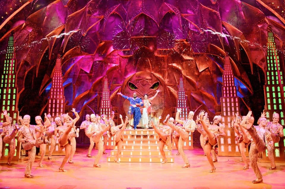 aladdin musical london