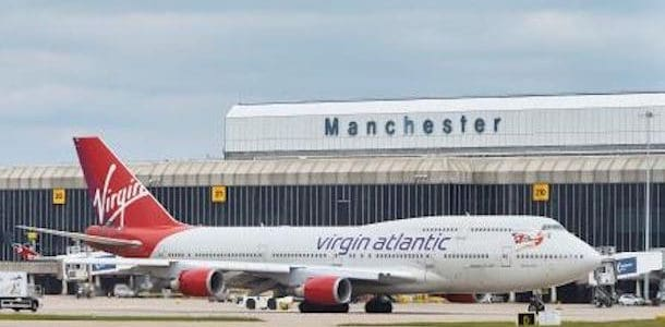 Fra Manchester lufthavn til Liverpool