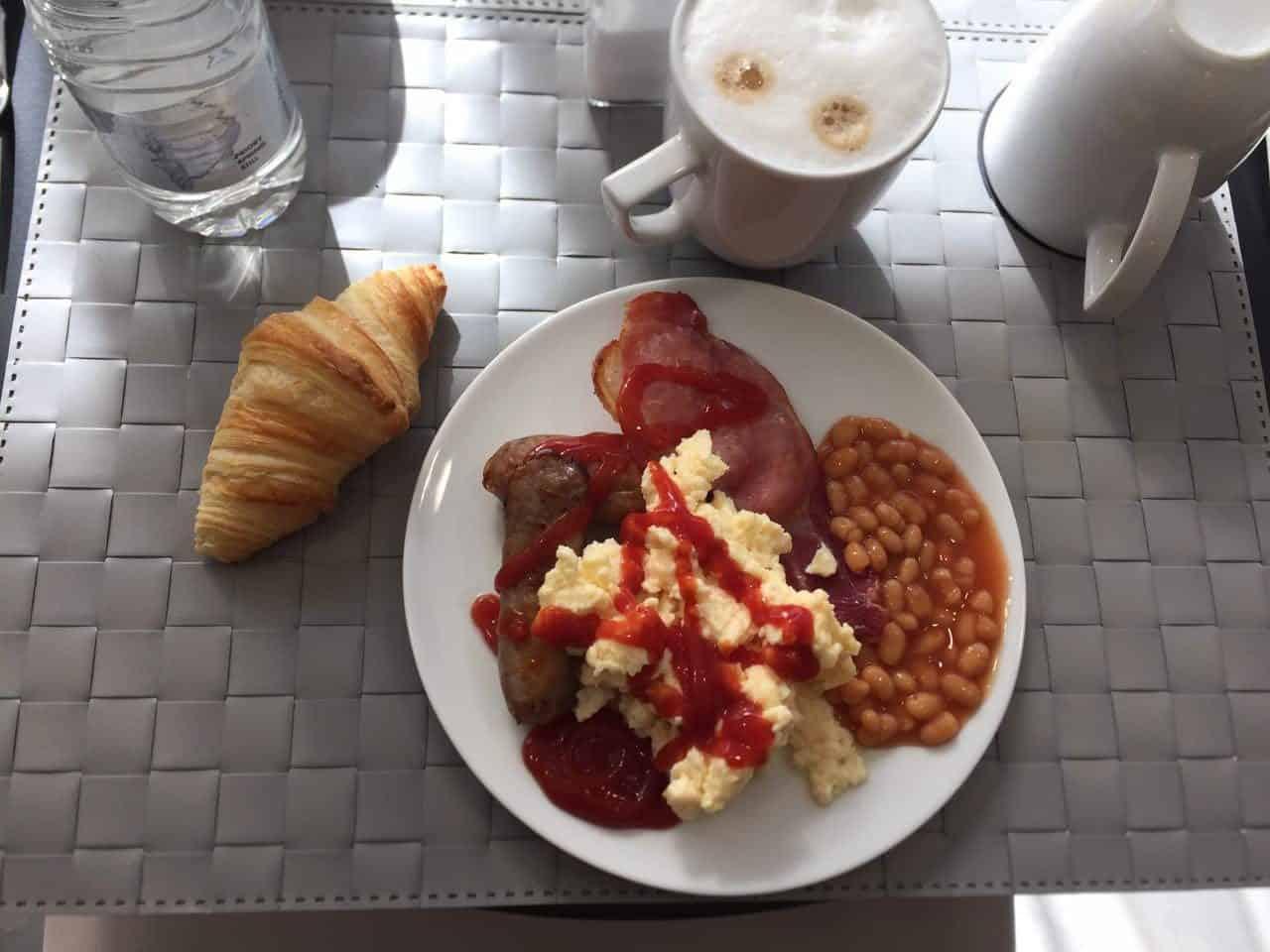 morgenmad på hotel i birmingham