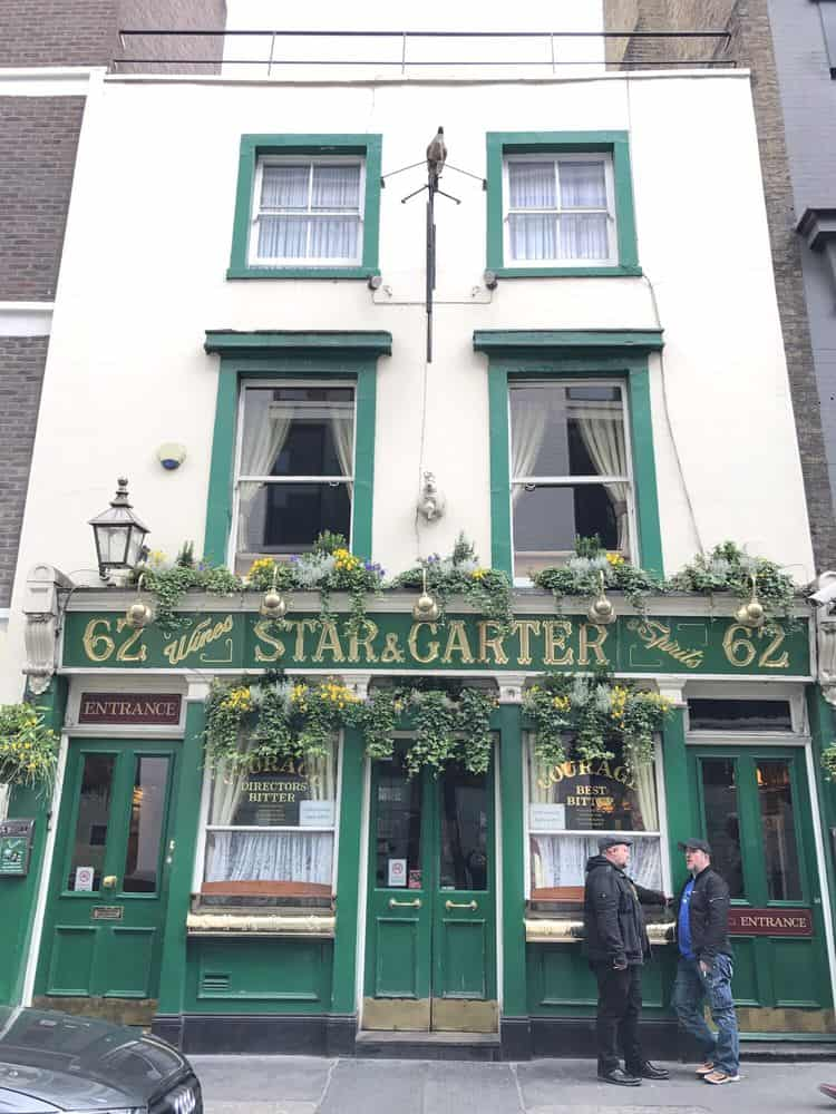 star and garter london